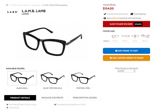 CoolFrames.com Product Page